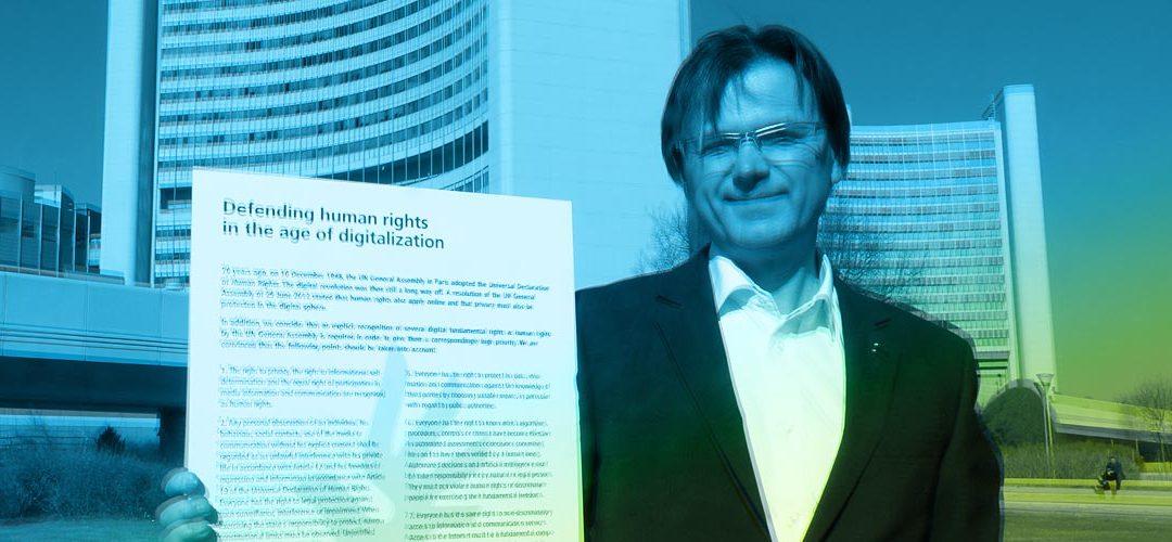 Wann kommen die digitalen Menschenrechte?